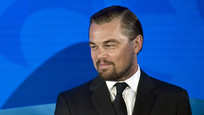 Actor and activist Leonardo DiCaprio, shown speaking at the Our Ocean, One Future conference in Washington, Thursday, Sept. 15, 2016, is reportedly in talks to work with Paramount and his production company on a live-action 'Captain Planet' movie. (AP file)