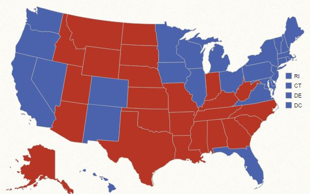 Key swing states Ohio, Florida and Iowa helped incumbent Barack Obama hold onto the presidency in 2012. (Courtesy: National Archives/Public Domain)