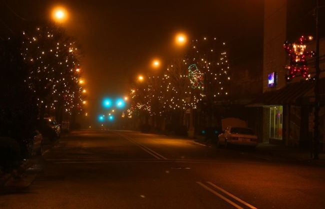 Christmas light display in Williamston. Credit: Town of Williamston Facebook page