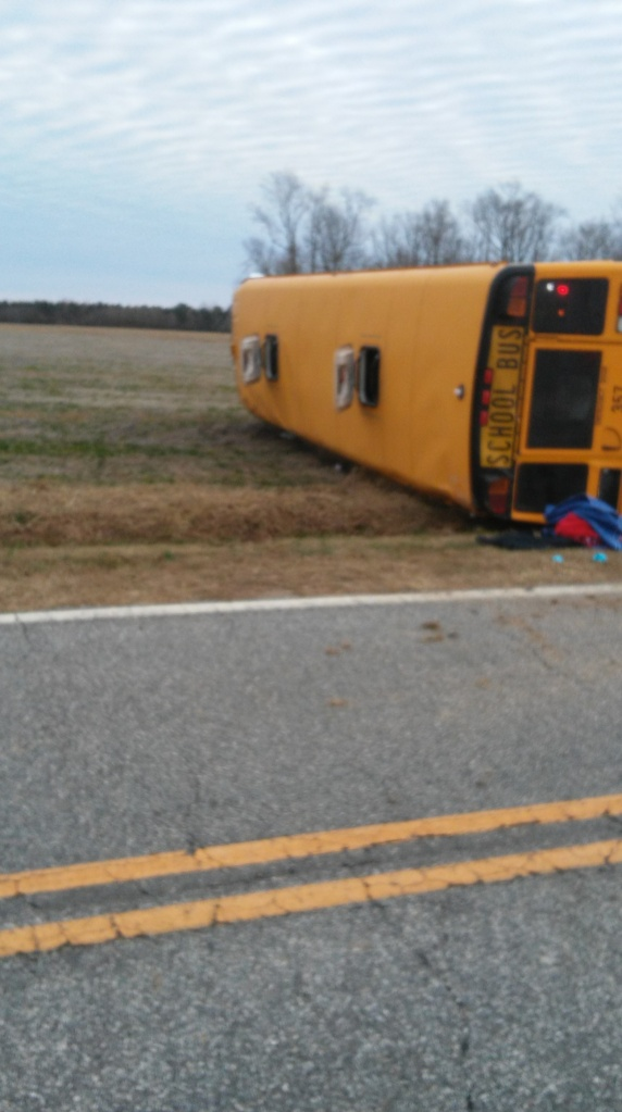 Bus driver charged in Edgecombe Co. bus crash