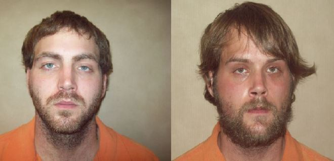 Jeffrey Ward, left, charged with murder. Jerrett Ward, right, charged with accessory after the fact.