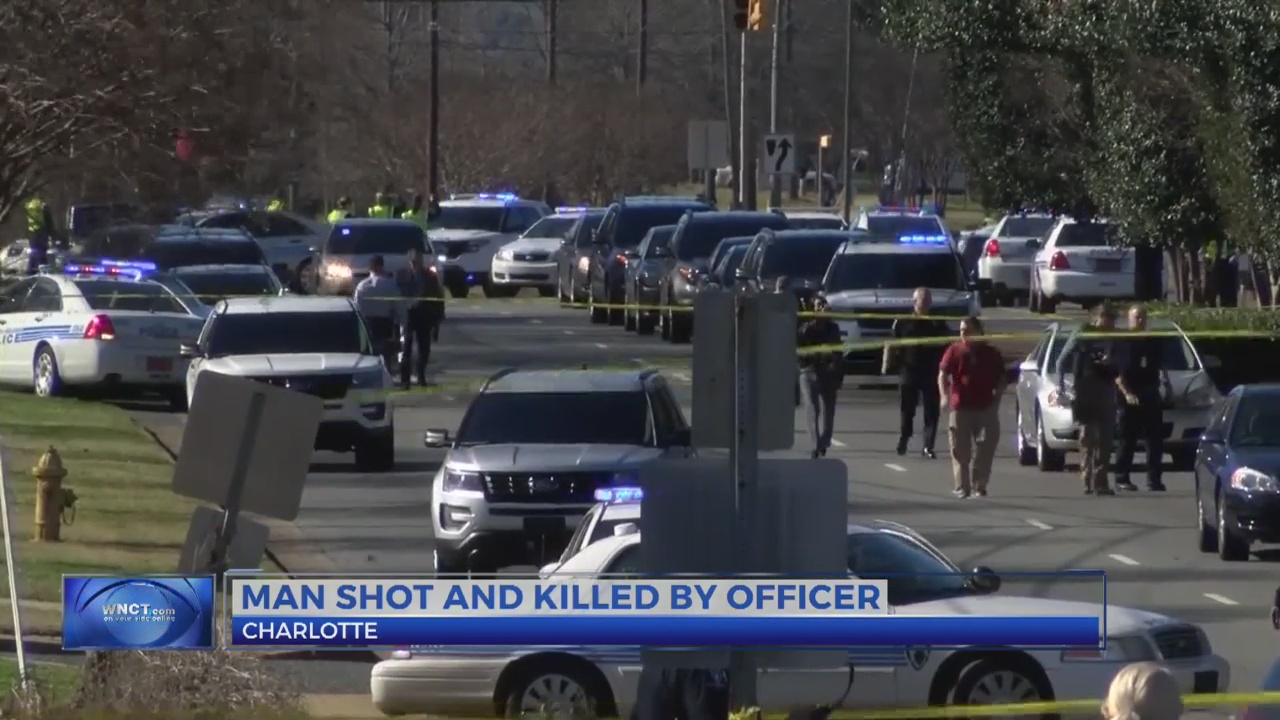 Man shot dead by officer following collision