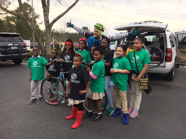 Greenville orthodontist bikes to Fla. to raise childhood hunger awareness