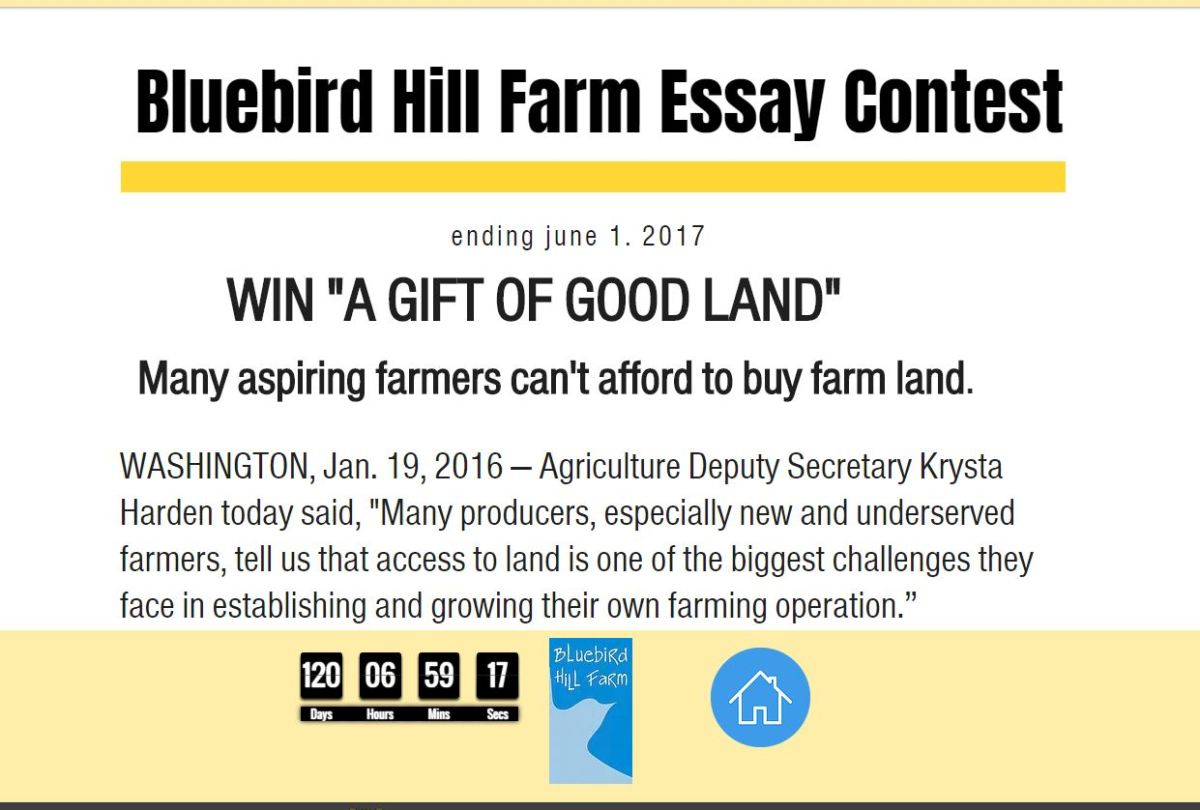 giving away the farm w holds word essay contest