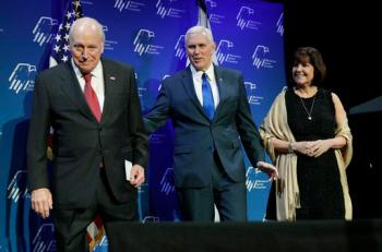 Mike Pence, Karen Pence, Dick Cheney