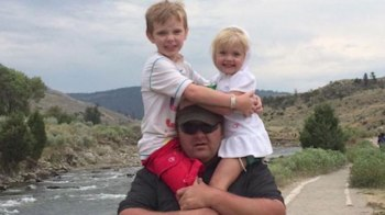 Randy Wells, of Sandy, Utah, and his two children, Asher, 8, and Sarah, 3, died in a plane crash on Feb. 25, 2017. (KTVX)