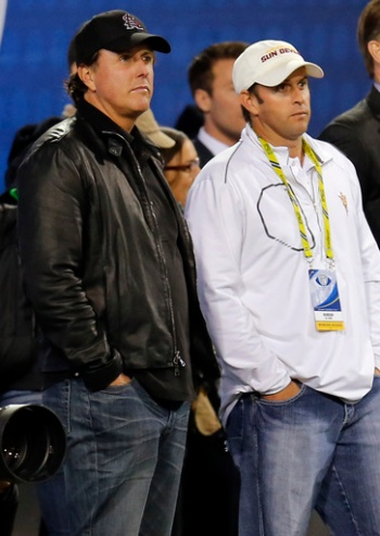 Phil Mickelson, Tim Mickelson,