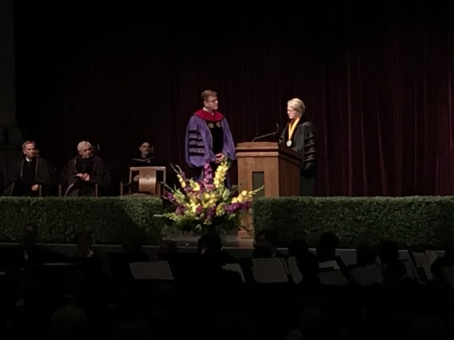 ECU installs Staton as 11th chancellor