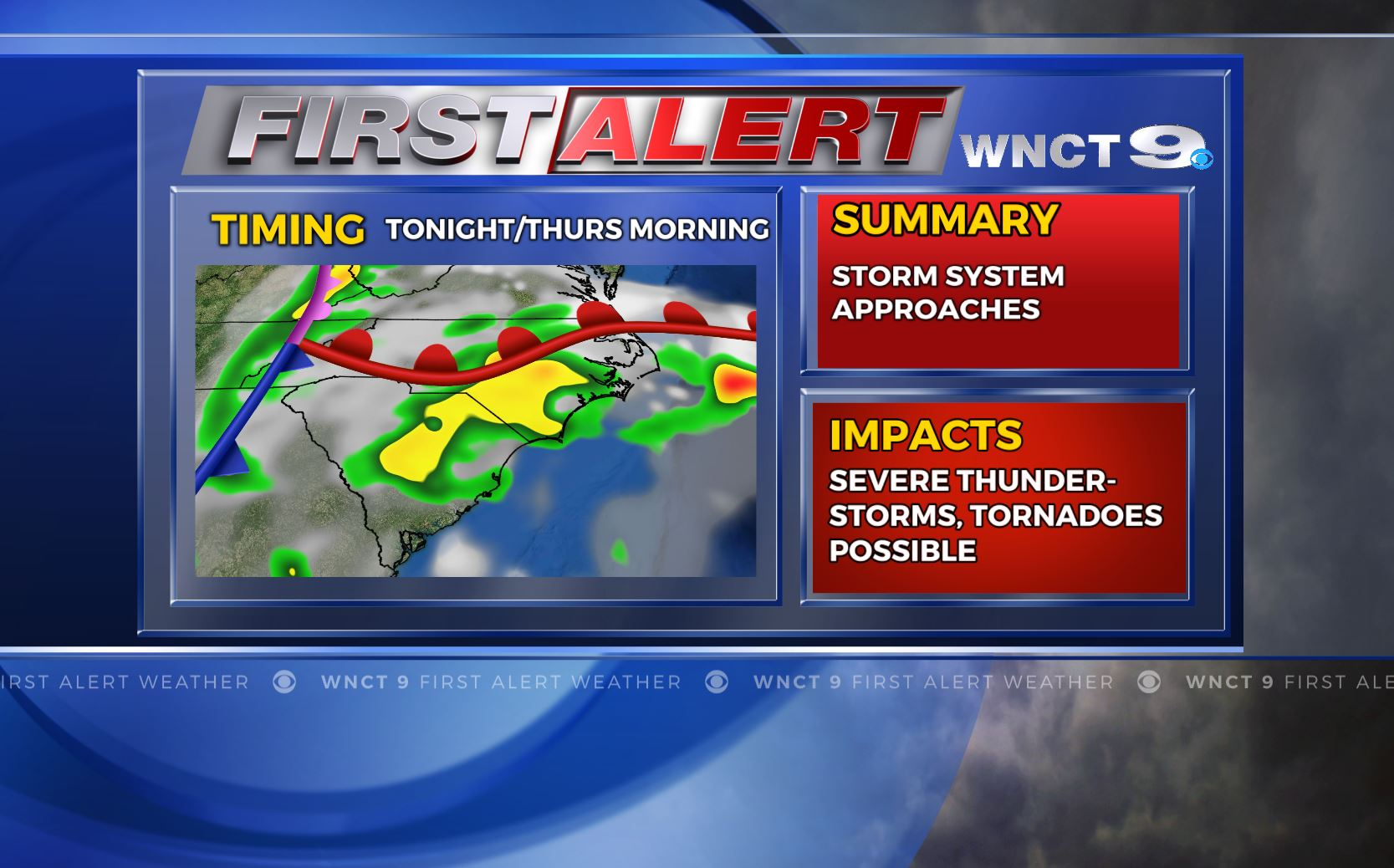 NC bracing for storms that could bring rain, snow and hail