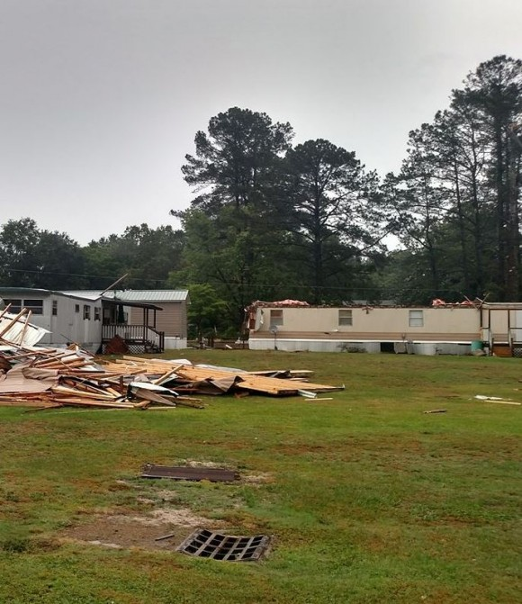 Tornado hits fire dept. in Sampson Co.; warning expired for counties in East