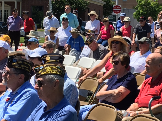 Greenville community pays respects to fallen heroes at Town Common
