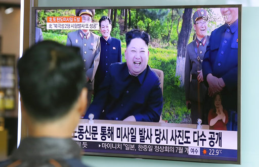 N.K. says it successfully fired intermediate-range ballistic missile