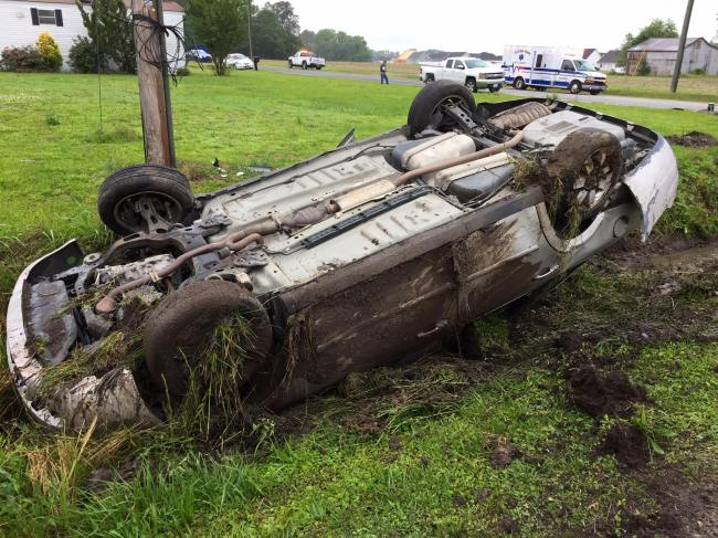 Six transported to Vidant after Winterville collision