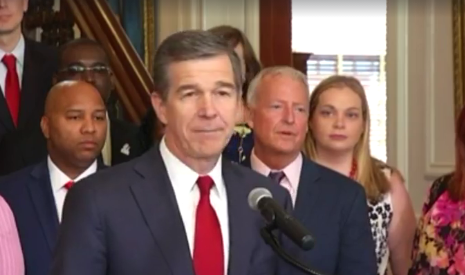 Cooper Officially Vetoes N Carolina Budget; Override Likely