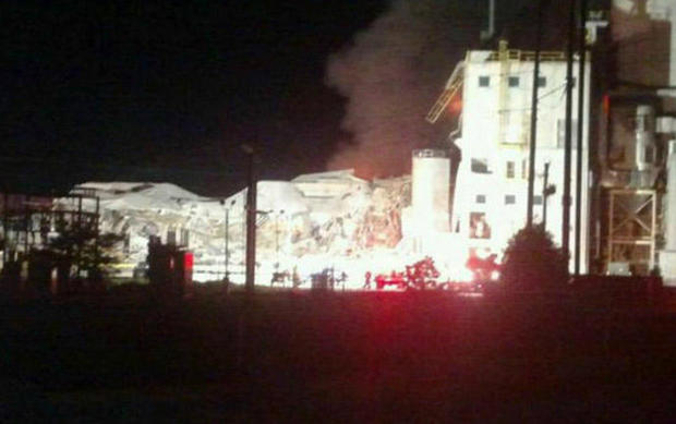 Missing person found dead after explosion at Wis. mill