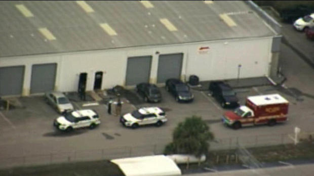 Fired warehouse worker kills five, himself in Florida