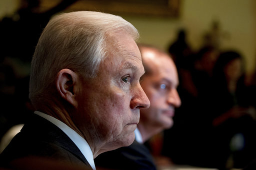 Jeff Sessions testifies before Senate