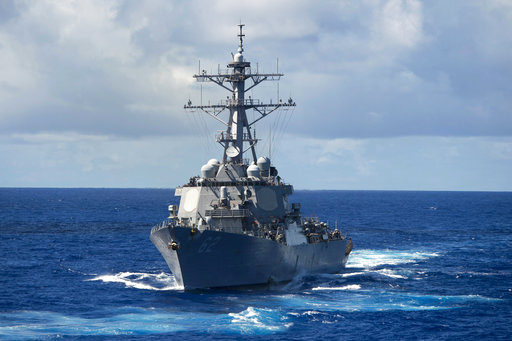 Search for 7 US Navy sailors ends after bodies found on ship