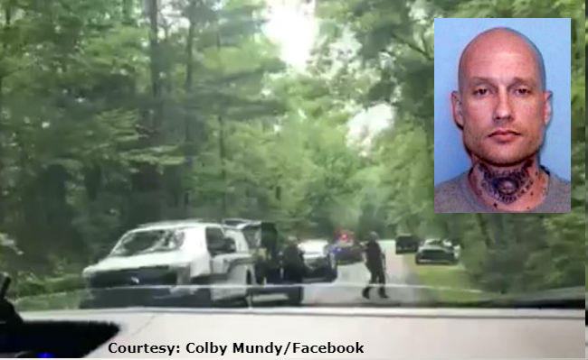 Father of North Carolina fugitive charged, body of kidnapped man found