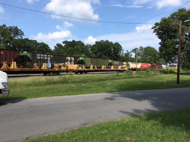 Eye-witness shares account of child hit by train in New Bern