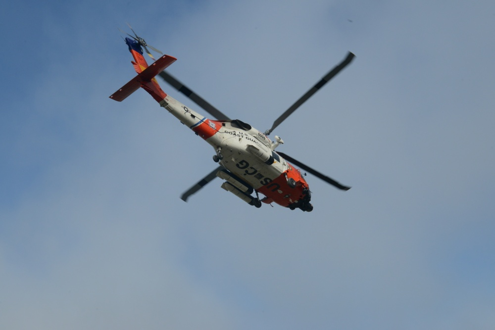 Coast Guard searches for man in Currituck Sound