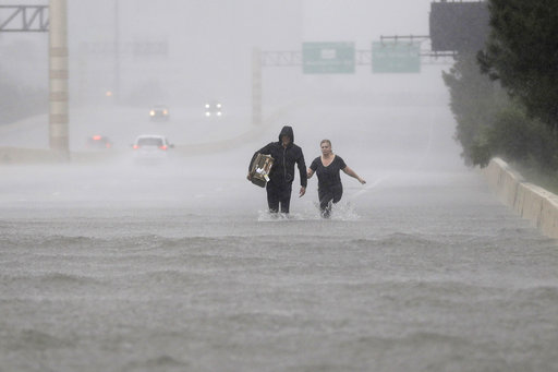 On Katrina anniversary, New Orleans braces for Harvey