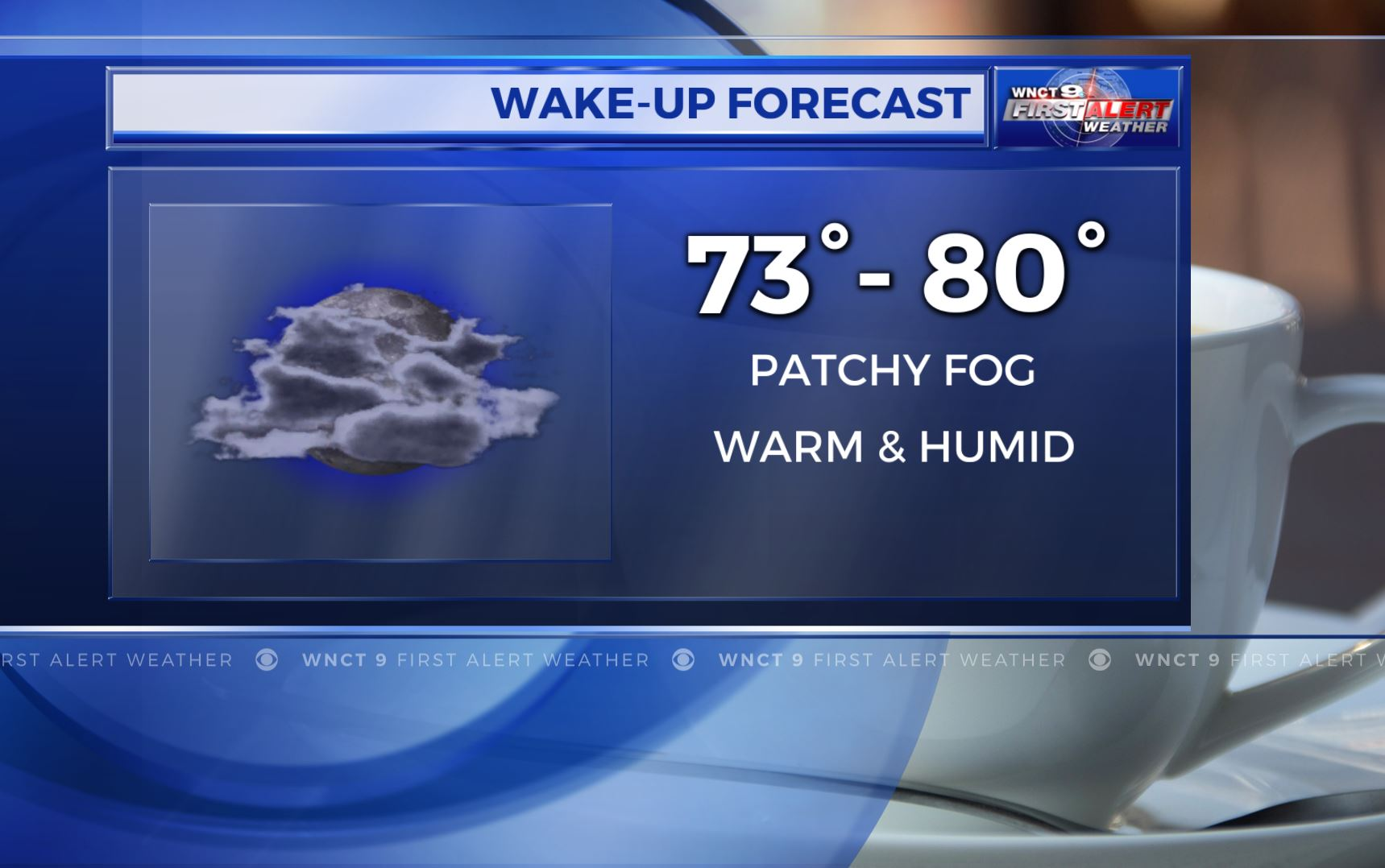 Wednesday weather: Sunny skies, with highs in the mid-80s