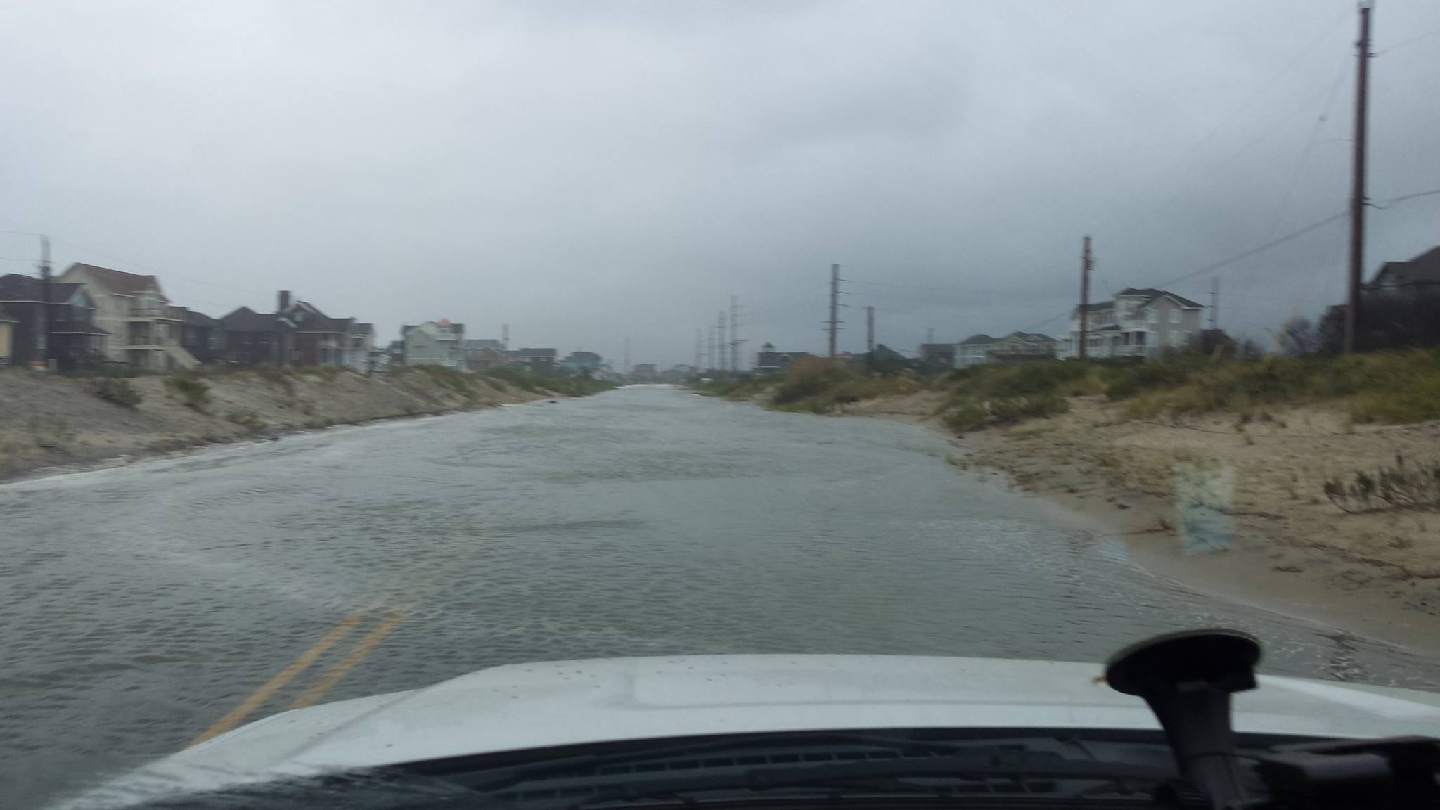 Hurricane Jose causes ocean overwash along Outer Banks