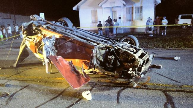 High speed chase ends in Tarboro with crash, flying debris