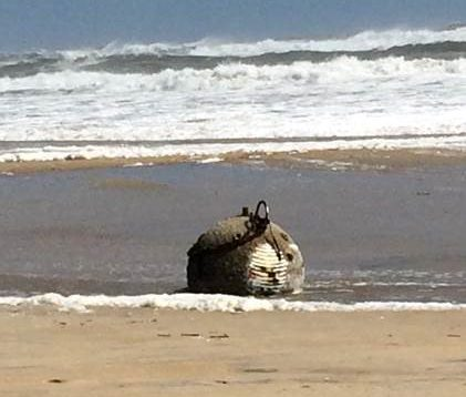 Potential unexploded ordnance found on two OBX beaches