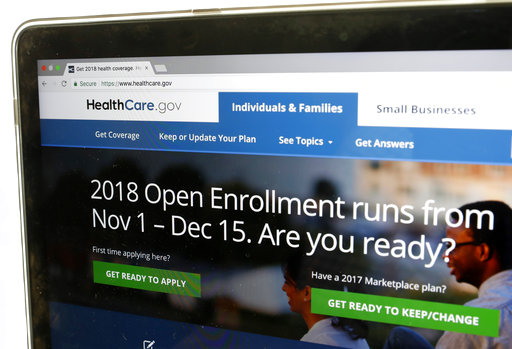 Obamacare enrollment dips only slightly for 2018