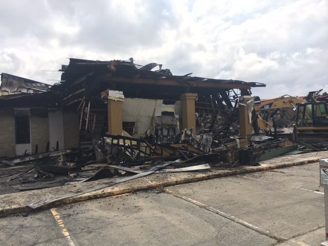 Community remembers Williamston hotel destroyed in fire