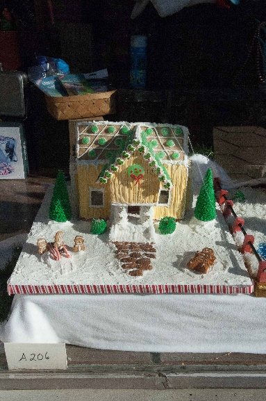 Gingerbread houses go on display in downtown New Bern