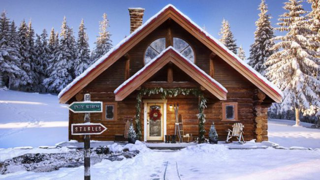 Santa's house listed on Zillow for $710559