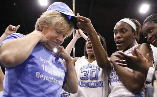 UNC's Hatchell reaches milestone with 1000th career victory