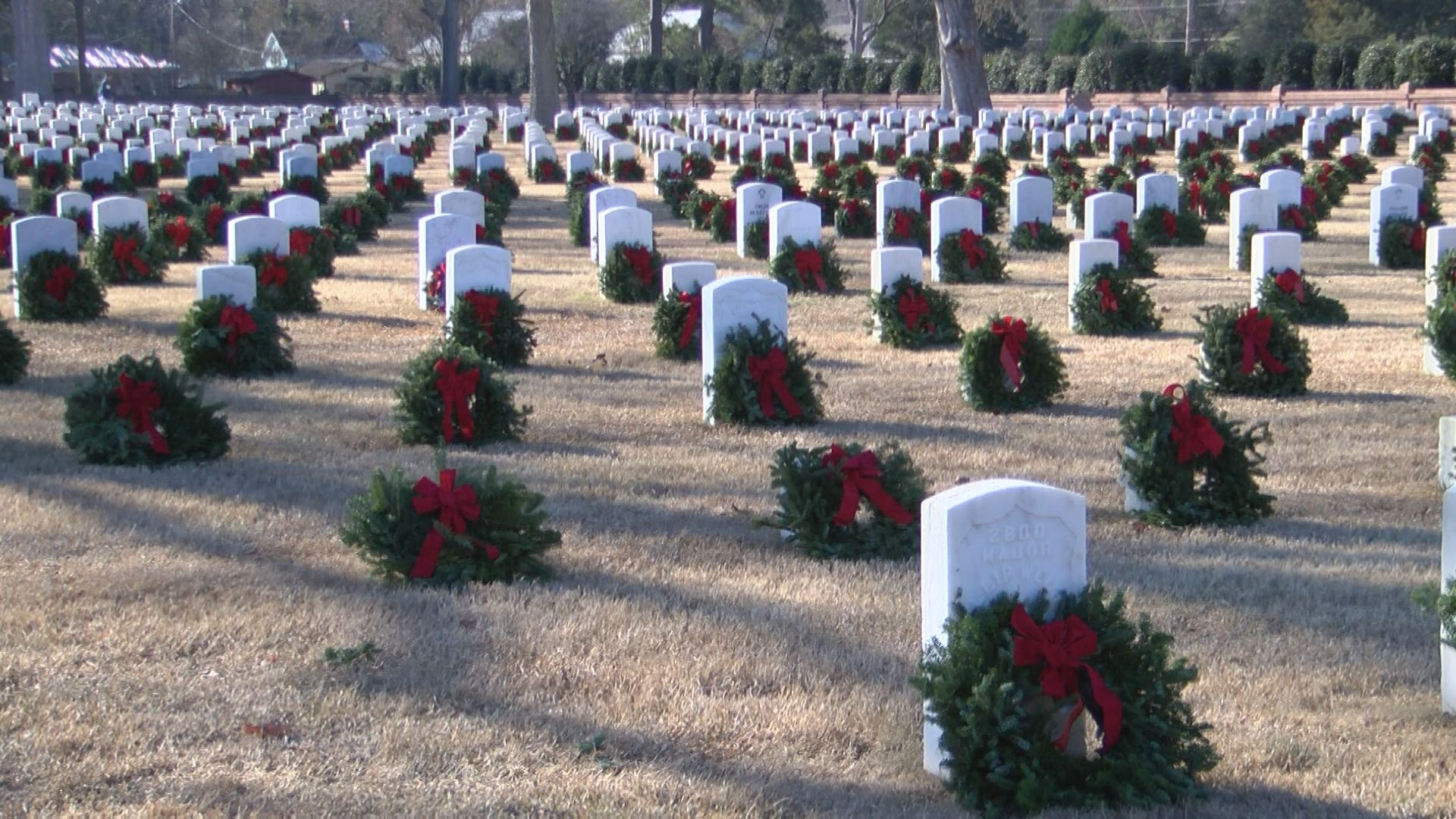 Wreaths Across America at Seven Pines National Cemetery