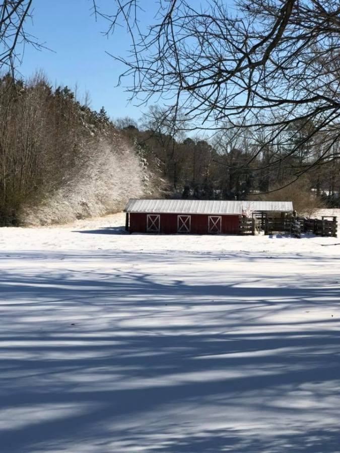 Snow in Onslow County
