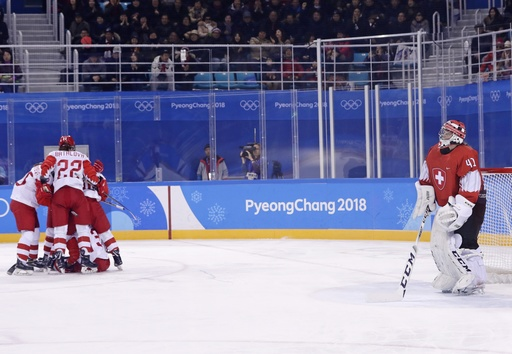 U.S. edges Slovakia in men's hockey 2-1 at 2018 Winter Olympics