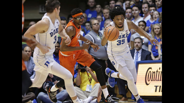 Marvin Bagley will return for Duke in Syracuse game