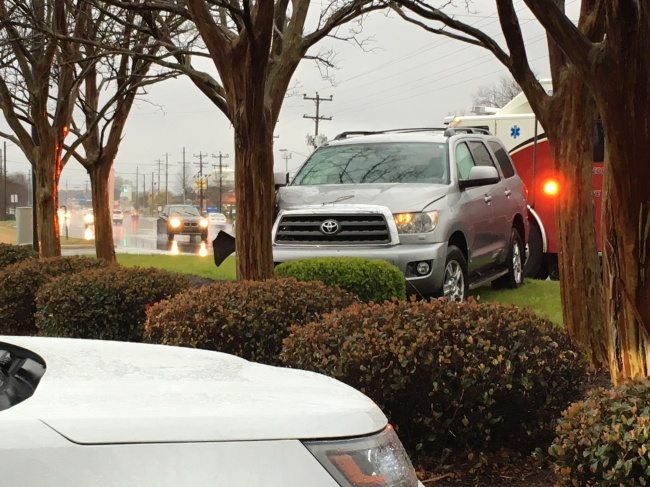 Accident causing delays on Greeenville Boulevard
